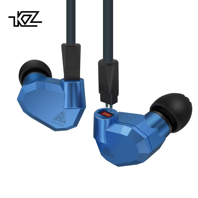 KZ ZS5 2DD + 2BA Hybride Dans L'oreille Écouteurs HIFI DJ Monito de Course Sport Écouteurs Boules Quies Casque Intra-auriculaires Casque