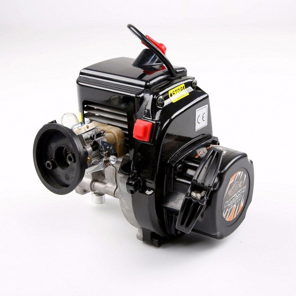 45cc 4 parafusos motor a gasolina com walbro1107 carburador ngk vela de ignição para 1/5 hpi rovan rei baja 5b ss peças - 2
