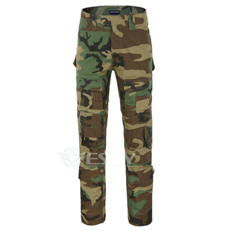 Multiple pockets Rapid Assault multicam pants Camouflage tactical military clothing paintball army cargo combat trousers
