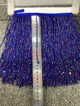 stock tassel   5 yards/bag  ym308# 15 cm deep blue tassel and pendant stock come in new colors for sawing dress fringe trim цена 2017