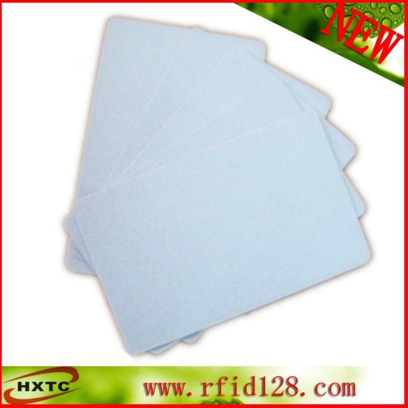 Free Shipping 200PCS/Lot CR80 Standard PVC White Inkjet Card (No Chip) Printable By E pson/Canon Printer Double Side Print