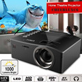 Full HD 1080P Home Theater LED Multimedia Projector Cinema TV HDMI Black EU home projector hdmi projector APE