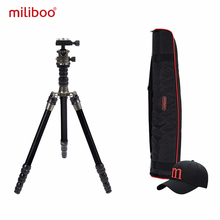 miliboo MEA Portable Aluminum Light Weight Travel Tripd 52/135 cm Come with Quick Release Plate Ball Head for Camera Canon