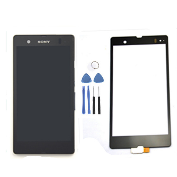 LCD Display Screen touch Digitizer Assembly +touch screen for Xperia Z L36h L36i C6902 C6606 C6603 C6602 C660x c6601