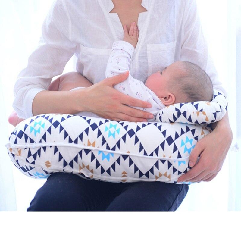 Coussin d'allaitement multifonctionnel oreiller d'allaitement infantile protecteur de taille maternelle oreiller en forme de U coussin d'alimentation de bébé