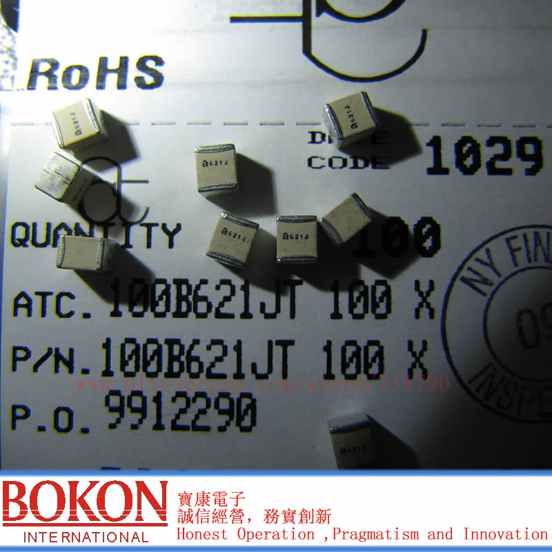 High Q Capacitors P90 ATC100B471JT200XT ATC100B471JW200XT ATC100B471JP200XT ATC100B471JT200XT  A471J A471J  470pF Chip Capacitor