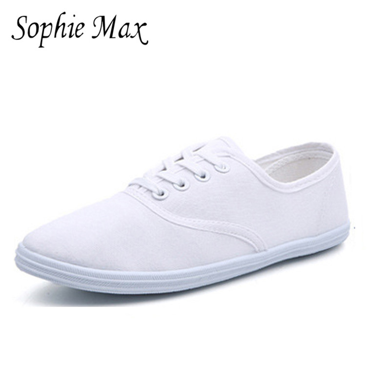 2016 autumn sophie max new arrival classic female canvas shoes light weight students shoes 870018 image