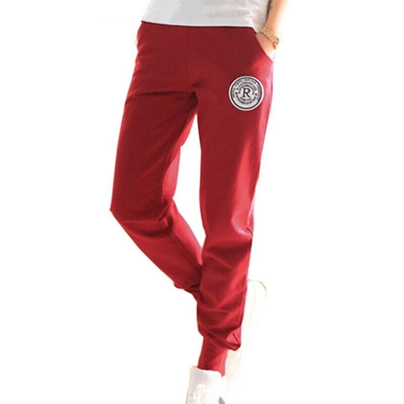 Plus Size 2018 New 100% Cotton Pants Women Deportes Pants Casual Loose Thin Trousers Ankle Length Pancil Pantalones S-XXL
