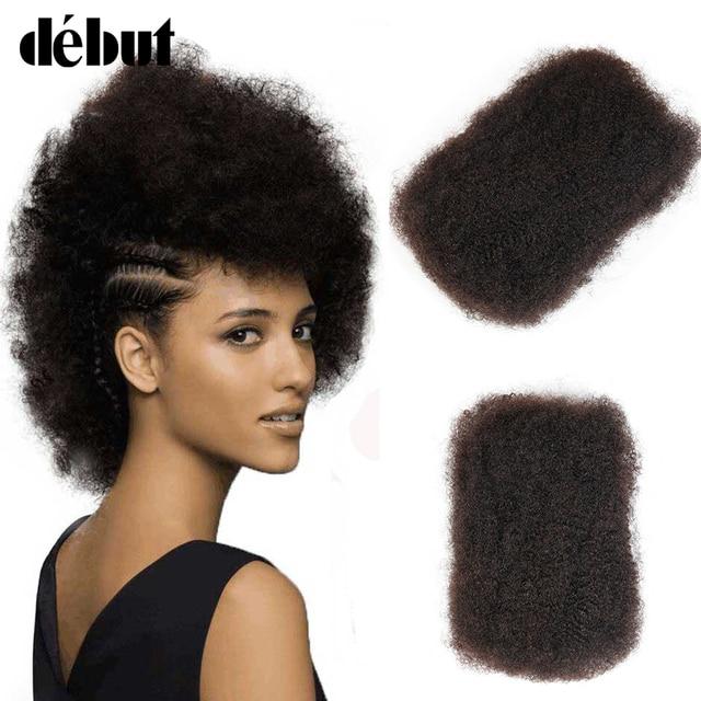 Debut Human Crochet Hair Brazilian Afro Kinky Bulk Human Hair 1 Pieces Remy  Human Braiding Hair Bulk 50 Gram PC Free Shipping 08c7f66cc