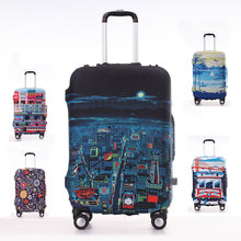 Reisegepäck Koffer Schutzhülle, Stretch, für S/M/L/XL, gelten für 18-30 zoll Fällen, reise Zubehör