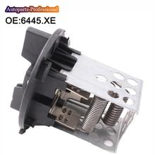 6445. XE 6445XE нагреватель/Мотор для дующего вентилятора резистор для Citroen C4 9017095 V22790004 700122N V22790004 9ML351332281