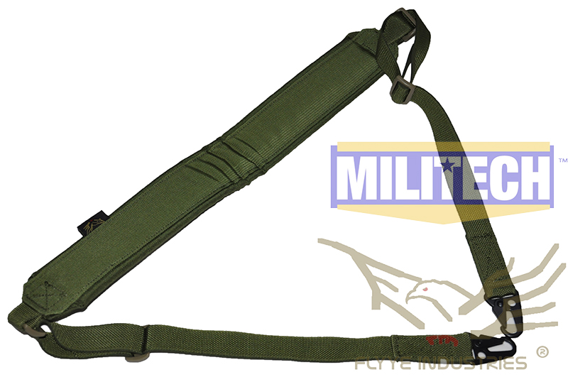 где купить  Military Spec Oliver Drab OD Machine Gun Tactical Safety LMG Single Point Sling FLYYE FY-SL-S006 LMG Single Safety Sling  по лучшей цене