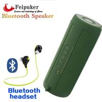 Gốc T2 Bluetooth Speaker Waterproof IP67 Di Động Ngoài Trời Wireless Mini Hộp Cột Loa Loa cho iPhone Samsung