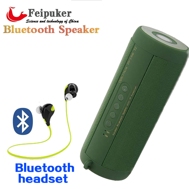 portable outdoor speakers. original t2 bluetooth speaker waterproof ip67 portable outdoor wireless mini column box loudspeakers speakers for iphone p