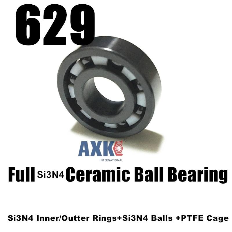 Free Shipping 629 SI3N4 Micro full ceramic ball bearing 9*26*8mmFree Shipping 629 SI3N4 Micro full ceramic ball bearing 9*26*8mm