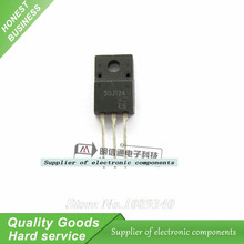 10PCS 30J124 GT30J124 TO220 LCD plasma commonly used tube New Original Free Shipping