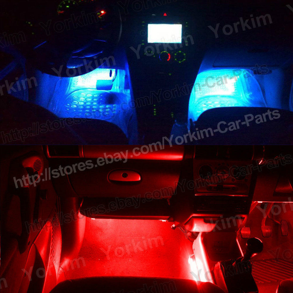 Free Shipping 4pcs Red Car Sound Control CCFL Neon Tube Interior Undercar Underbody Light Door Lights Pathway Lighting-in Headlight Bulbs From Automobiles . & Neon Door Lights \u0026 Pezcame.Com