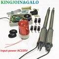 Elektrische tore/Elektro Drehtorantrieb 300 KG Schaukel Tor Motor mit 5 Fernbedienung wit 1 para von lichtschranken 1 alarm licht