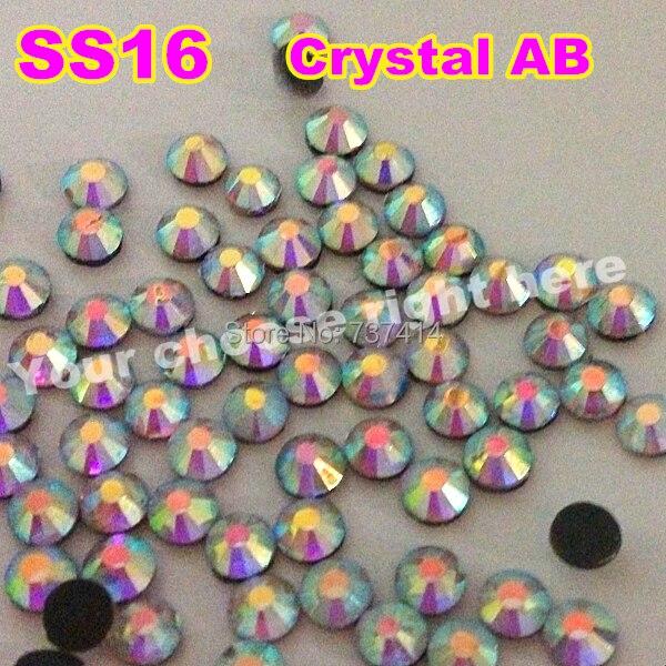 SS16 1440ks / Bag Clear AB Crystal DMC HotFix FlatBack Kamínky štrasové, kutilské železné skleněné oděvy Hot Fix krystaly kameny se třpytí
