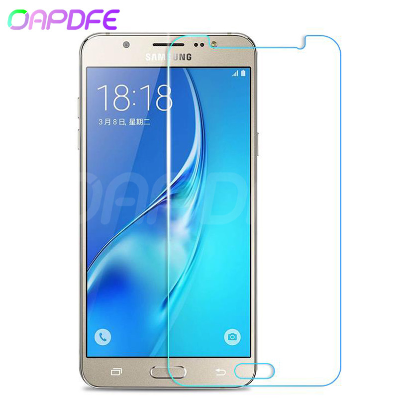 DESHENG Clear Screen Protector 25 PCS AG Matte Anti Blue Light Full Cover Tempered Glass for Galaxy J3 Pro Glass Film
