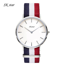 Top Fashion Brand Luxury SKstar Watches Women Men Gold Watch Casual Quartz Wristwatch Waterproof Female Watch Clock For Feminine