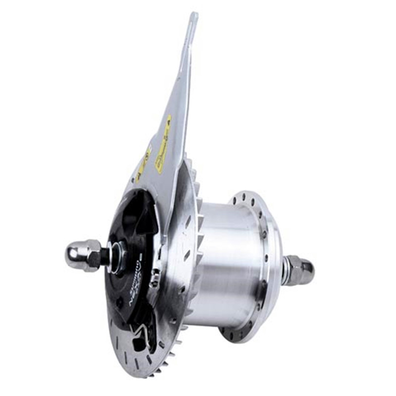 100mm dropout 1.4Kg Ultra-light small Max 24V/33V/36V 500W Roller brake front hub motor for electric bike&electric bicycle