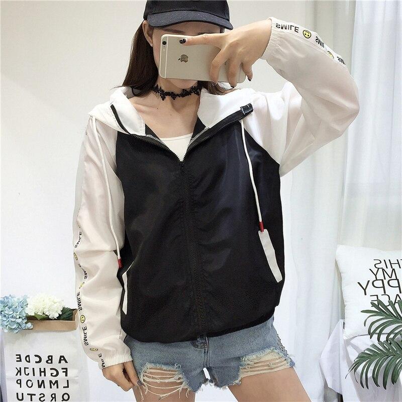 Tafforda Women   Jackets   New Fashion Spring Summer Women's Hooded Female   Basic     Jacket   Thin Windbreaker Outwear Casual Women Coat