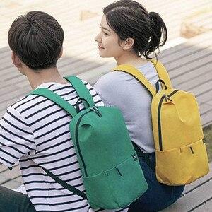 Image 2 - Original Xiaomi Mi sac à dos 10L sac coloré loisirs urbains décontracté sport poitrine Pack sacs hommes femmes petite taille épaule Unise H30