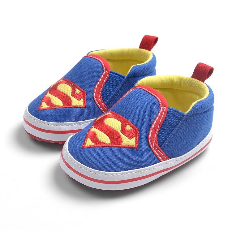 Calzado Superman Niñas Bebé Suela Deporte Zapatos Suave Batman Primeros Niños Pequeños Zapatillas Deslizantes De Gota Supergirl Caminantes 2D9WEHYI