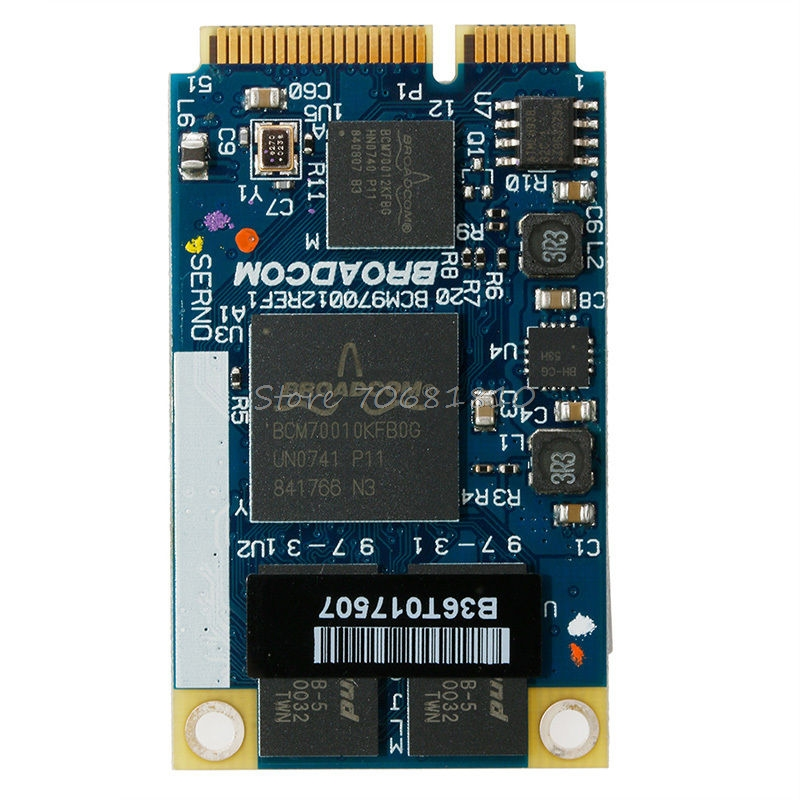 For BCM970012 BCM70012 HD Decoder AW-VD904 Mini PCIE Card For TV Netbooks -R179 Drop Shipping