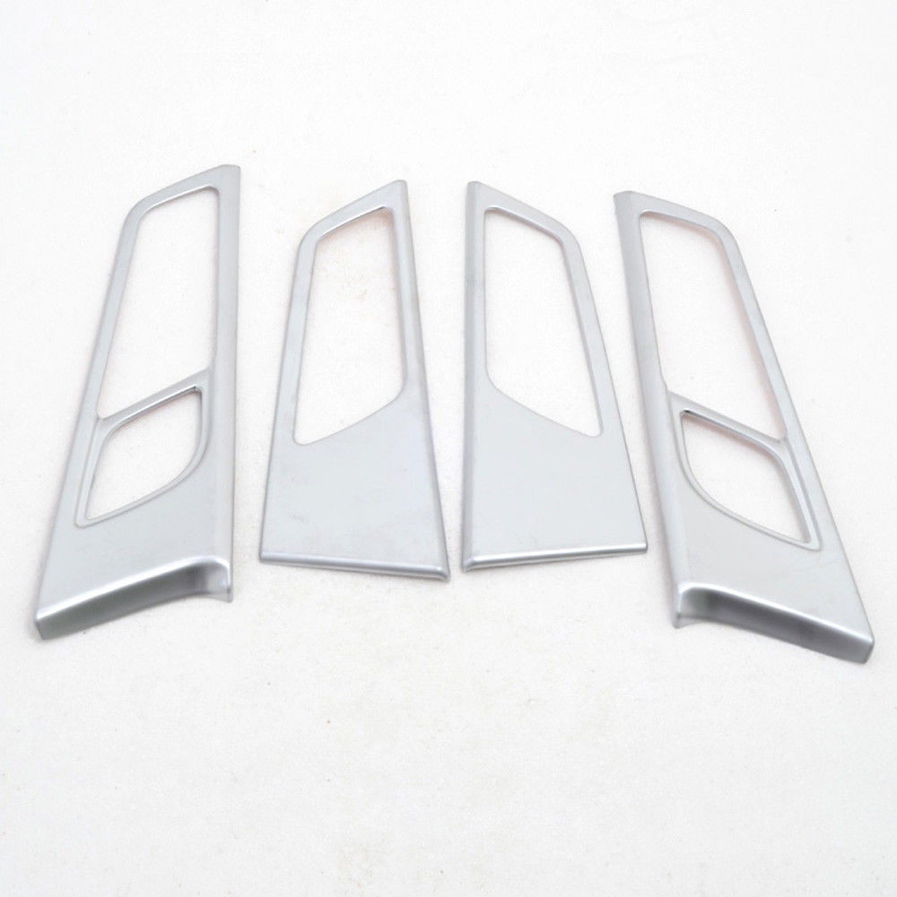 For Hyundai Tucson 2016 SUV Interior Side Door Handle Bowl Cover Bezel ABS Matte