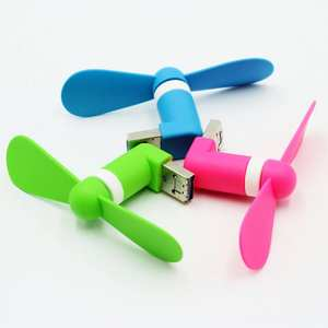 Fan Usb-Fan Mobile-Phones Mini-Usb Android Portable Laptop Micro New OTG for PC