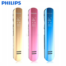 PHILIPS Hidden Voice Recorder 8GB Digital Voice Recorder USB MP3 Player Professional Recorder Pen Dictaphones Mini Small Audio