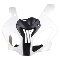 For BMW S1000RR Upper Front Cowl Nose Fairing 2010 2011 2012 Motorbike Parts Accessories Injection Mold ABS Plastic Unpainted
