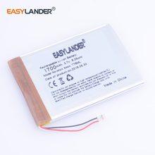 Batería recargable de polímero de litio para E-Book onyx boox T76ML, C63ML, T76SML, C65ML, C65HD, C67ML, c67ml, carta2, T68, MP5, 3,7 V