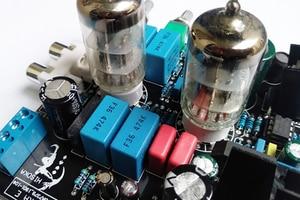 Image 4 - 6N3 כונן TDA7379 ואקום צינור מגבר סטריאו HiFi Amp Amplifie מראש מגבר 38W + 38W DC 12V