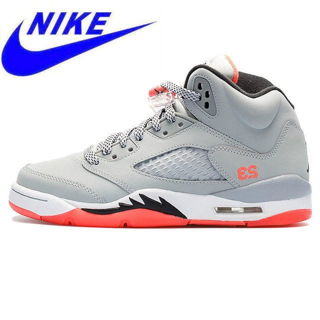 outlet store b446f f2192 US $399.0 |Original Nike Air Jordan 5 Retro Gs AJ5 Florida Women's  Basketball Shoes Sneakers,Original Anti slip Cool Sport Shoes 440892 018-in  ...