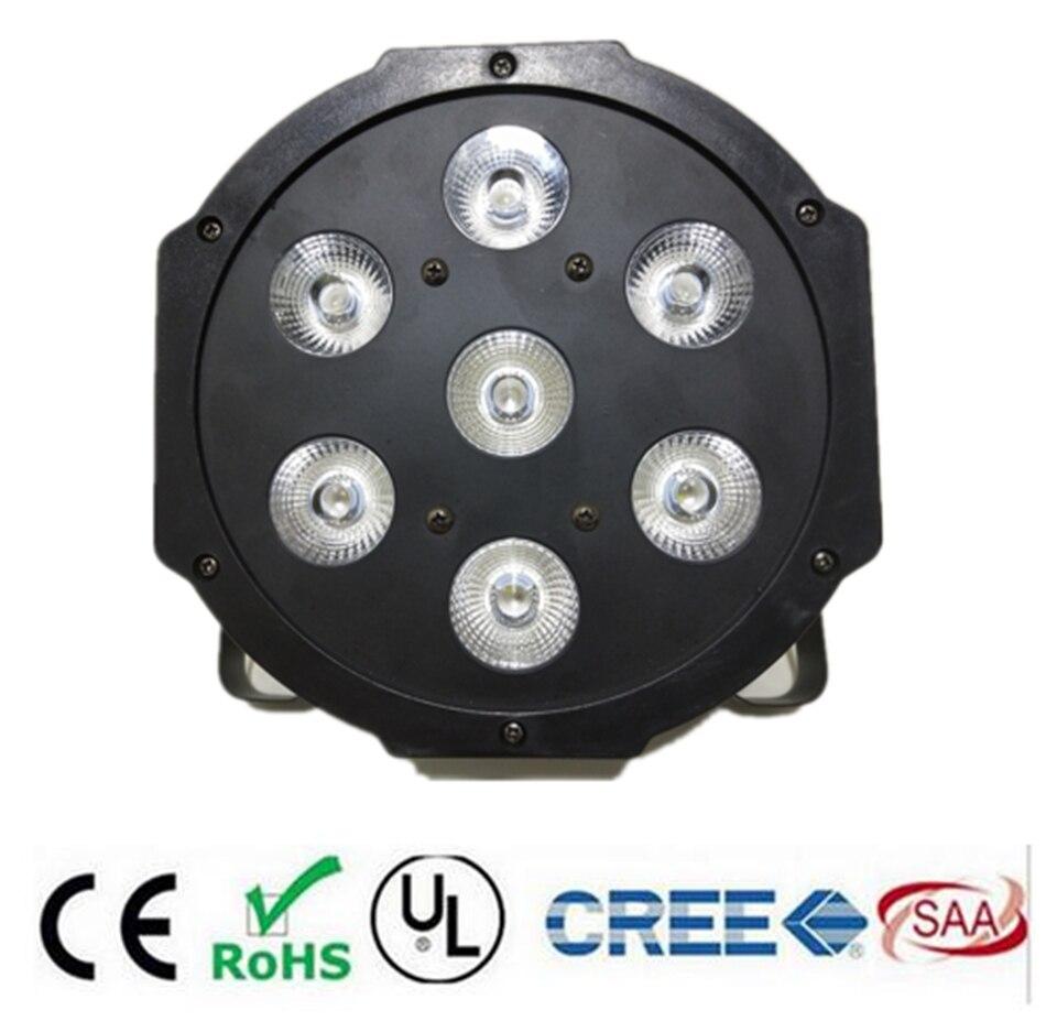 LED par  RGBWA UV rgbw 4in1 5in1 6in1  LED DJ Wash Light Stage Uplighting 7X12W 7x18W 7x15W
