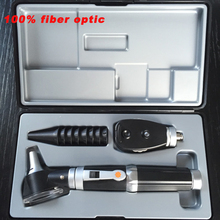 Freeshipping Professional Medical ENT Diagnositc Kit Direct Otoscope and Ophthalmoscope easy use m edical eye diagnositc kit professional portable direct ophthalmoscope free shipping