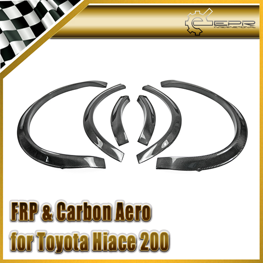 By625 200 20 Carbon Frontaufsatzelemente: Car Styling For Toyota Hiace 200 Series Carbon Fiber