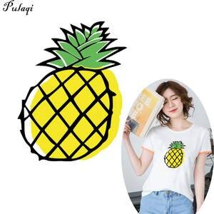 I vestiti dell/'ananas toppa l/'autoadesivo di trasferimento di calore che stamp
