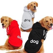 Одежда для собак золотистый ретривер, собака большого размера зимние пальто для собаки Толстовка Одежда для Тедди спортивная одежда S-9XL DOG001