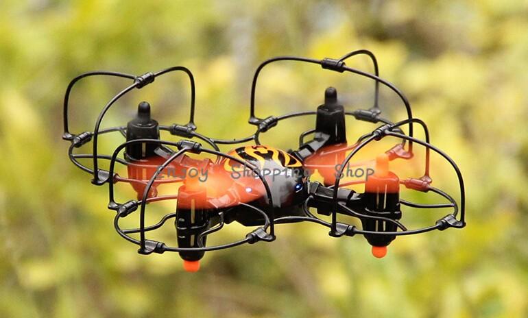 Mini rc quadcopter