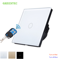 Touch Switch EU Standard Touch Switch 1 Class 1 White Touch Screen Wall Switch Intelligent Home
