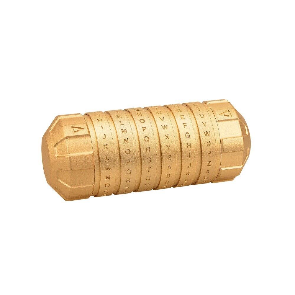 MEW Da Vinci Mini cryptex casier jouets Cryptex saint valentin intéressant romantique jouer jeux cadeaux d'anniversaire pour garçons filles