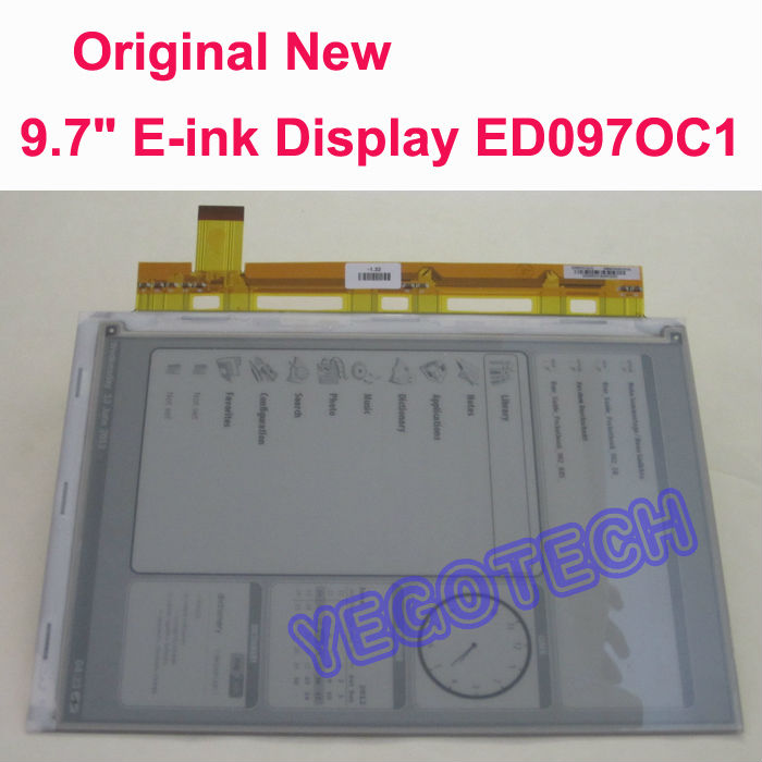 Brand New 9.7 E-ink Screen ED097OC1(LF) Display Replacement For Amazon Kindle DX ebook Reader brand new ebook display for amazon kindle keyboard 3g free 3g wi fi 6 e ink display ebook reader 100% guarranty