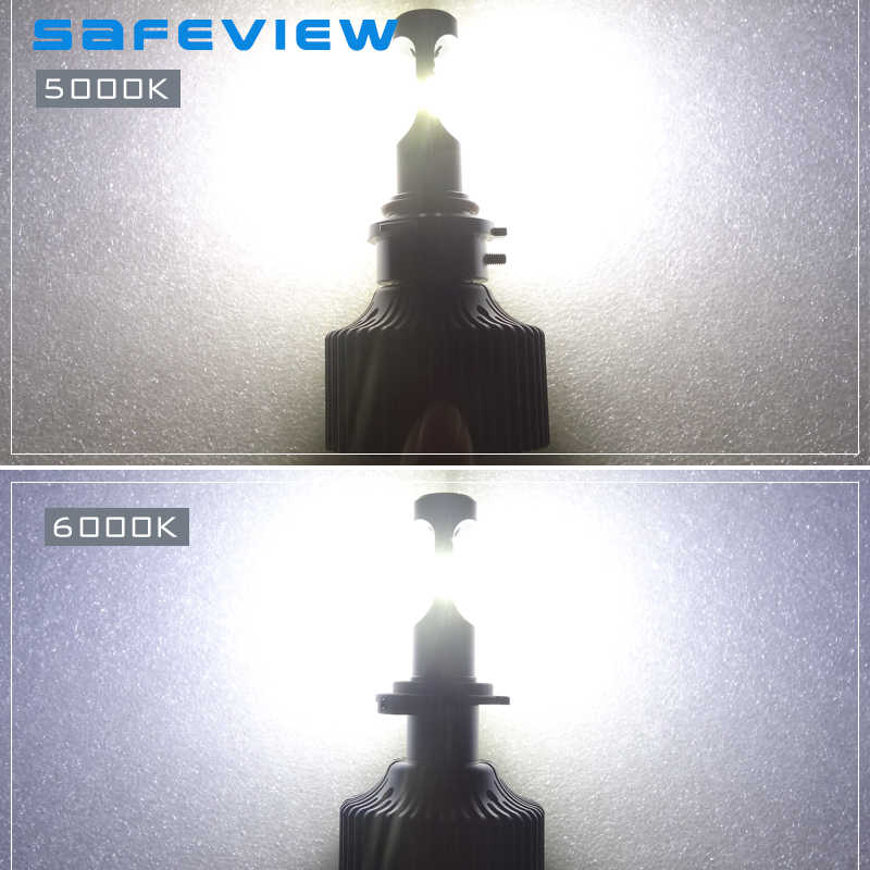 ASFEVIEW 2 Pcs H7 Led Car Headlights Lighting Bulb H4/H8/H9/H11/HB3/9005/HB4/9006 Led 30W 4200LM 5000K 6000K Auto Bulb Headlamp
