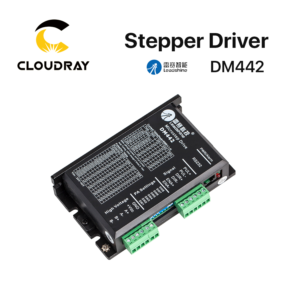 Cloudray Leadshine 2 Phase Analog Stepper Driver <font><b>DM442</b></font> image
