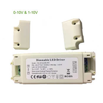 LED Driver Box CC Dimmable with Signal 0-10v 1-10v 300ma 600ma 1000ma 1200ma 1500ma 8W-70W Powered - DISCOUNT ITEM  20% OFF All Category