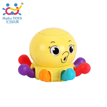Cartoon Octopus Baby Rattles Plastic Baby font b Toys b font Hand Shake Bell Ring font